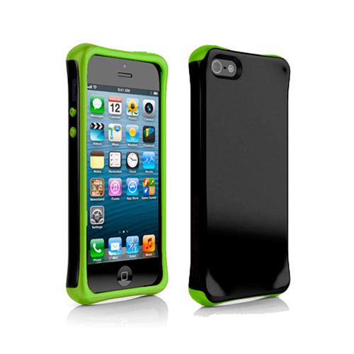 Ballistic Aspira Case for Apple iPhone 5/5s (Black/Lime Green)