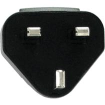 OEM BlackBerry Charger UK Adapter Clip - White
