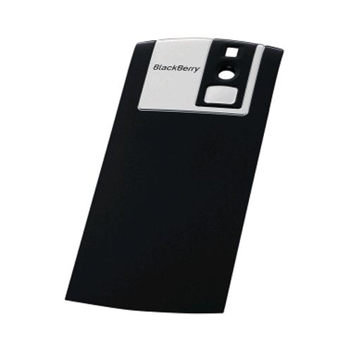OEM BlackBerry Replacement Standard Battery Door for BlackBerry Pearl 8100 - Dark Grey