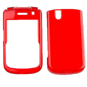 Blackberry BB9630/Tour/9650/Bold Snap On Case - Transparent Dark Red