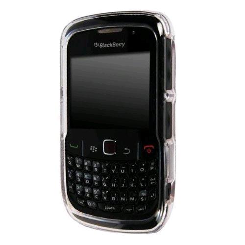 Technocel Plastic Shield Case Cover for BlackBerry 8520 & 8530 Curve 2 (Clear) - BB8530SCL-Z