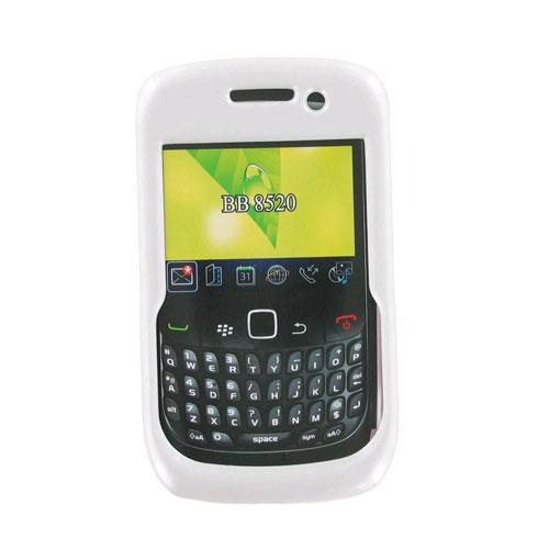 Generic Snap-On Case for BlackBerry 8520 - White