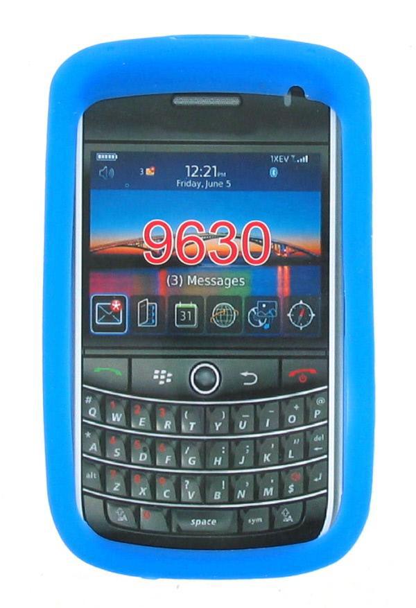 BlackBerry 9630 Silicone Case - Blue