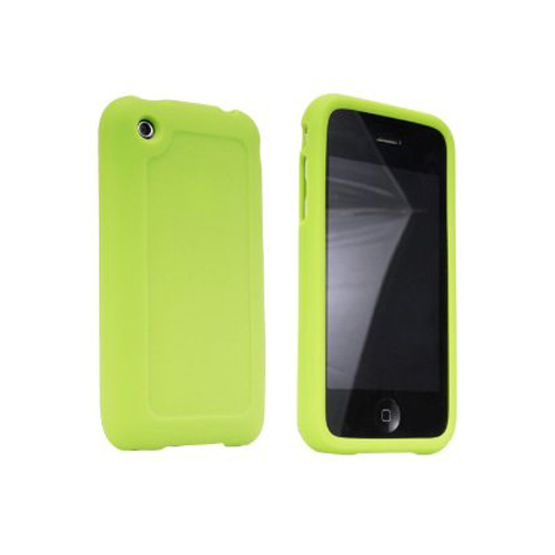Gizmoco Silicone Gel Case for Apple iPhone 3G/3GS - Green