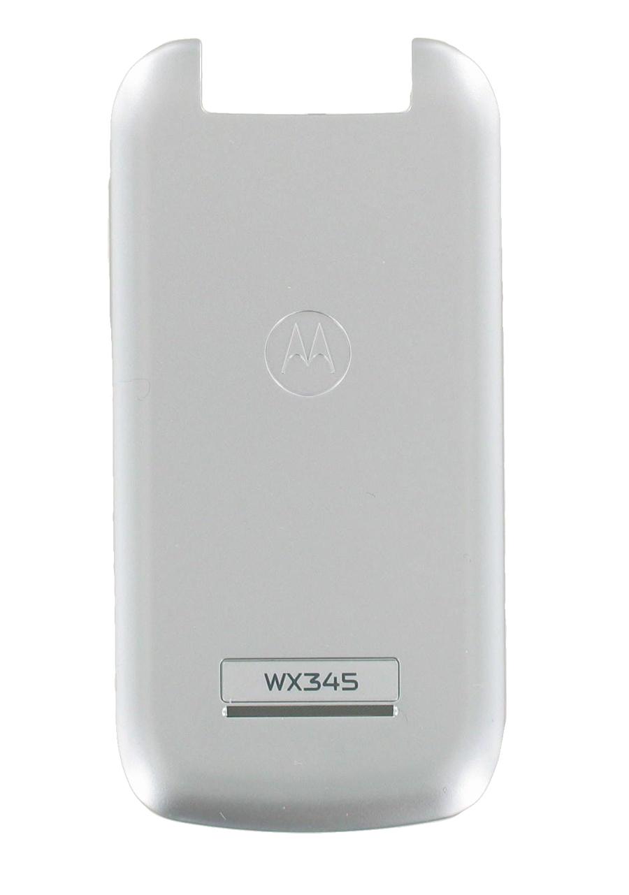OEM Standard Battery Door Cover for Motorola WX345 (Silver)