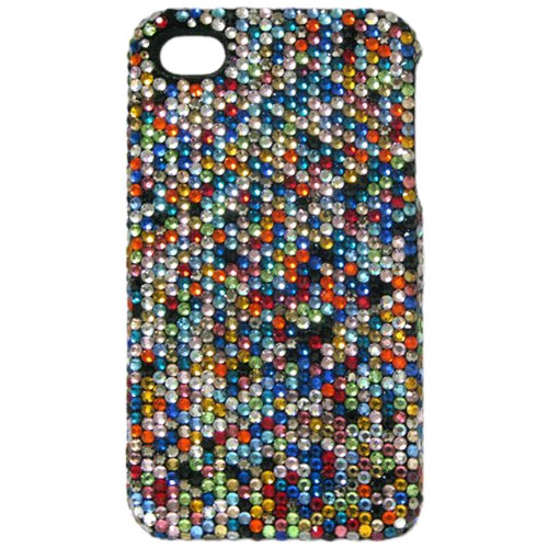 Crystal Icing Select Crystal Case for Apple iPhone 4/4S (Confetti/Multi Color)
