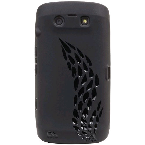 Case-Mate Emerge Silicone Case for BlackBerry Torch 9850, 9860 - Black