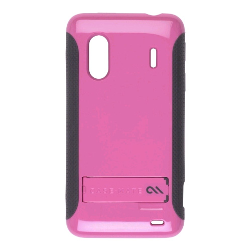 Case-Mate Pop! Case with Stand for HTC Kingdom / EVO 4G (Pink/Cool Gray)