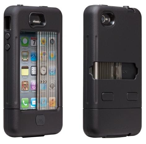 Case-Mate Tank Case for Apple iPhone 4/4S (Black/Black)