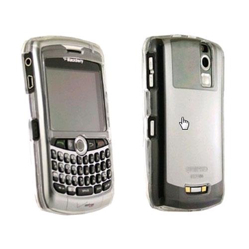 Seidio Innocase Crystal Case for BlackBerry Curve 8330 - Silver