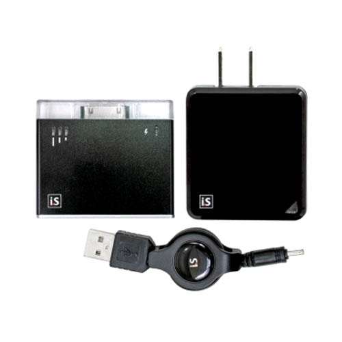 dreamGEAR - iSound BackUp Battery for Apple iPhone 3GS, 4/4S, iPod Touch - Black