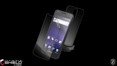 ZAGG - invisibleSHIELD Screen Protector for Samsung Galaxy S II Skyrocket SGH-I727 - Full Body