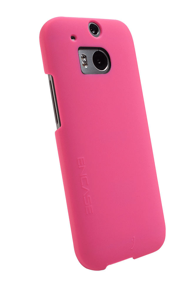 WirelessOne Encase Case for HTC One M8 (Pink)