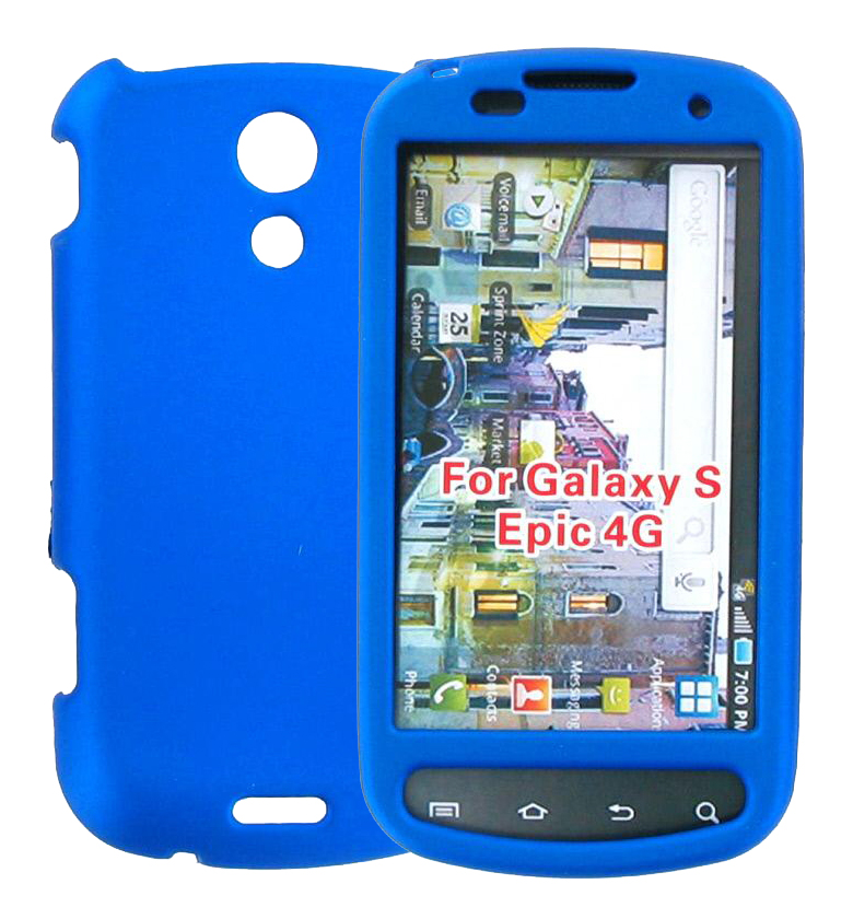 WireX Hard Shell Snap-On Case for Galaxy S Epic 4G - Blue
