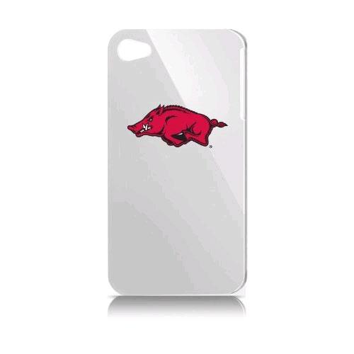 Arkansas University Varsity Jacket Solo Case for Apple iPhone 4 - White