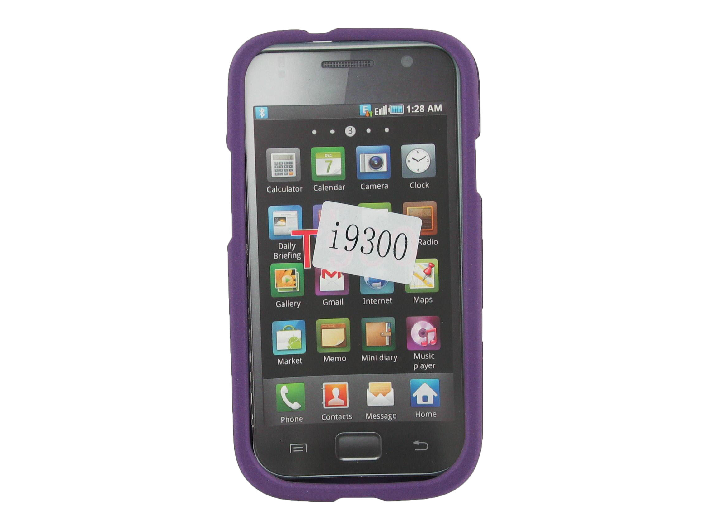 Unlimited Cellular Snap On Case for Samsung Galaxy S3 - Purple