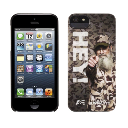Griffin Duck Dynasty Hey! Case for Apple iPhone 5/5s - Thyme-Black