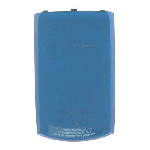 OEM Samsung I770 Saga Battery Door, Standard size - Blue