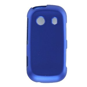 Wireless Inc. Mobile Rubber Shield for Samsung M350 - Blue
