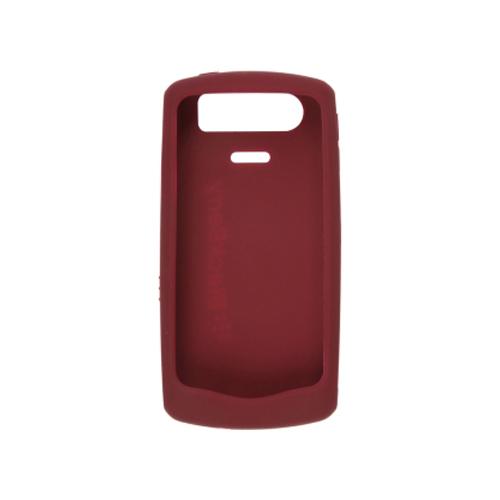 OEM Blackberry 8110 8120 8130 Rubberized Skin - Dark Red