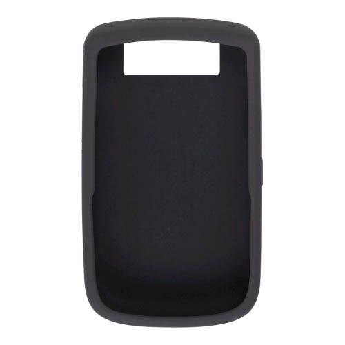 BlackBerry Silicone Gel Case for BlackBerry Tour 9630 (Black)