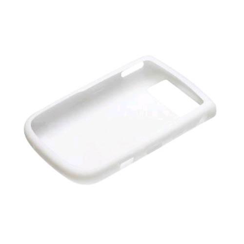 OEM BlackBerry 9630 Tour, 9650 Bold Silicon Skin Case - White