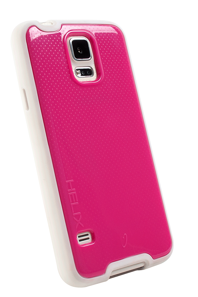 WirelessOne Helix Case for Samsung Galaxy S5 (Pink/White)