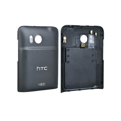 OEM HTC ThunderBold Wireless Charging Battery Door Cover BRC-540 (Black) (Bulk Packaging)