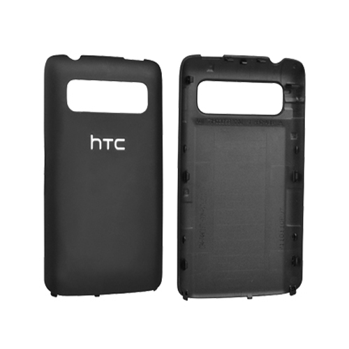 OEM HTC Trophy 6985 Standard Battery Door / Cover (Black) (Bulk Packaging)