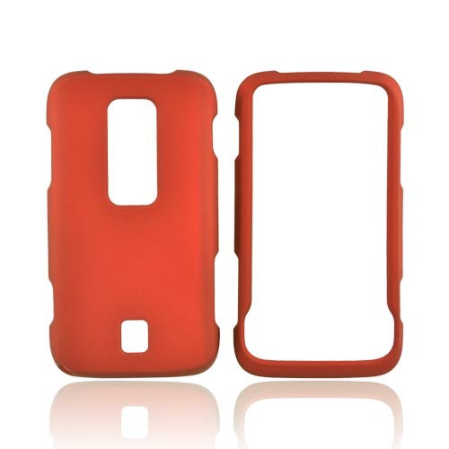 Snap-On Case for Huawei Ascend M860 (Red Orange)