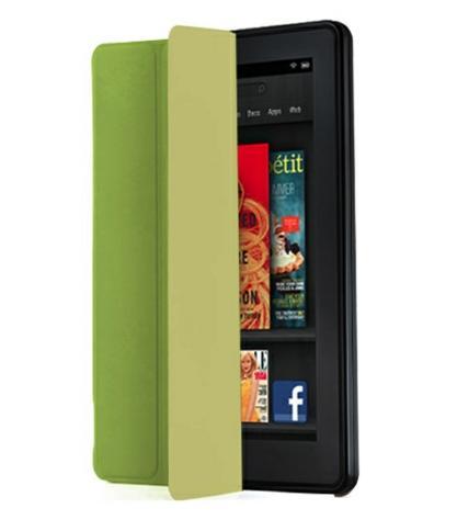 iLuv - Epicarp Slim Folio Cover for Amason Kindle Fire - Green