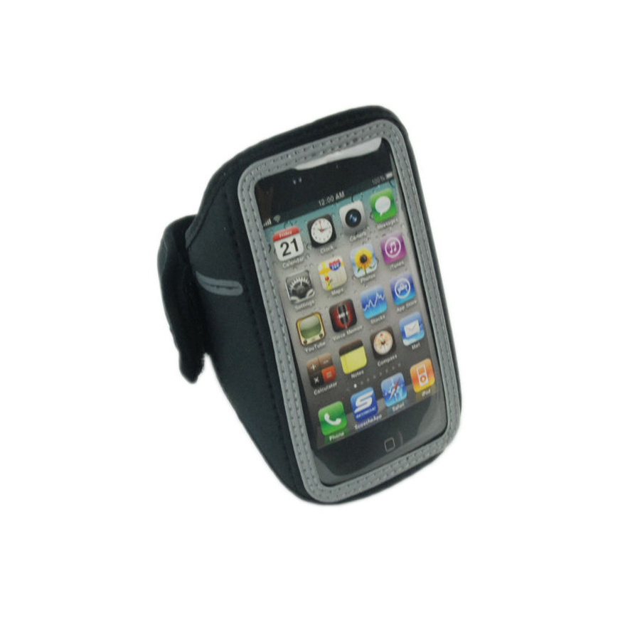 Scosche Neoprene Sport Band Case for iPhone 3G, iPod Touch, iPod Nano (Black)