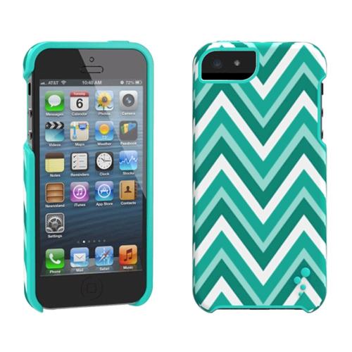 M-Edge M-Edge Echo Case for Apple iPhone 5s/5 (Chevron Mint) - IP5-EC-P-CMT
