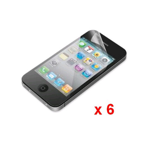 Unlimited Cellular - Screen Protectors for Apple iPhone 4/4S