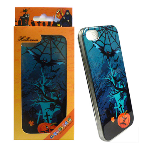 Unlimited Cellular Deluxe Silicone Skin for Apple iPhone 5 Deskin (Halloween Series)