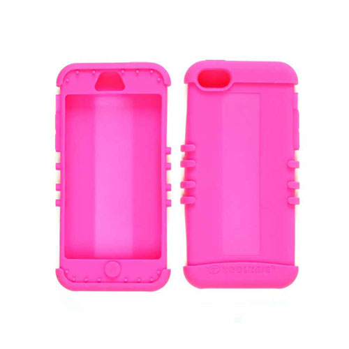 Unlimited Cellular Rocker Series Skin Case for Apple iPhone 5C (Fluorescent Magenta)