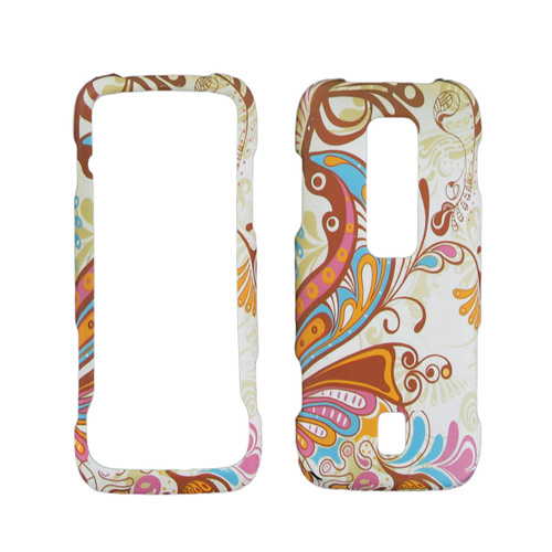 Wireless Accessories Snap-On Case for Huawei Ascend M860 (Multicolor Paisley)