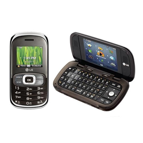 LG Octane VN530 Replica Dummy Phone / Toy Phone (Silver & Brown) (Bulk Packaging)