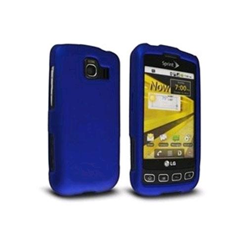 Technocel Soft Touch Shield for LG Optimus - Blue