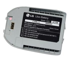 OEM LG VX5550 Standard Battery LGLI-ACXM (Silver)