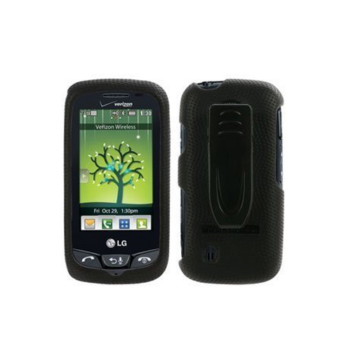 Verizon - Body Glove Snap-On Case for LG VN270 Cosmos Touch - Black