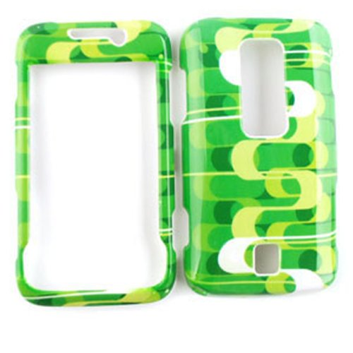 Snap-On Case for Huawei Ascend M860 (Green Dots)