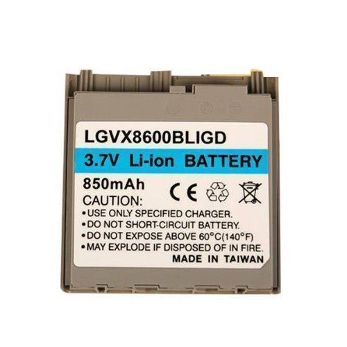 Technocel Lithium Ion Standard Battery for LG VX8600, AX8600 - Gold