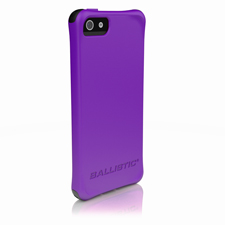 Ballistic Smooth Case for Apple iPhone 5 - Purple