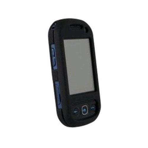 WirelessXGroup Rubberized Protective Shield for Samsung SPH-M350 - Black