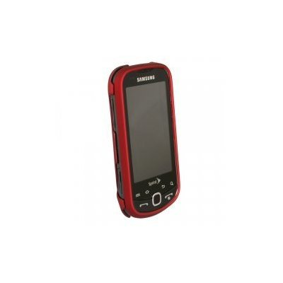 Samsung M910 Intercept Rubberized Snap-On Case (Red)