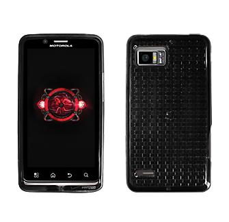 Verizon High Gloss Silicone Cover Motorola Droid Bionic (Black) (Bulk Packaging)