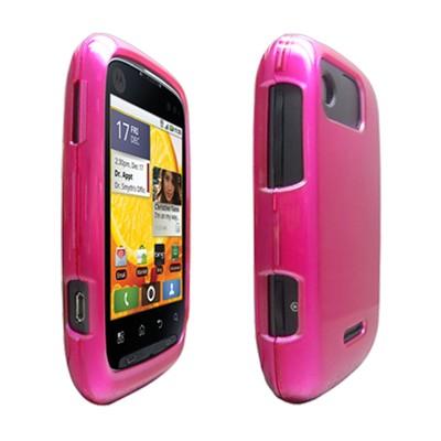 OEM Verizon Snap-On Case for Motorola Citrus WX445 (Pink) (Bulk Packaging)