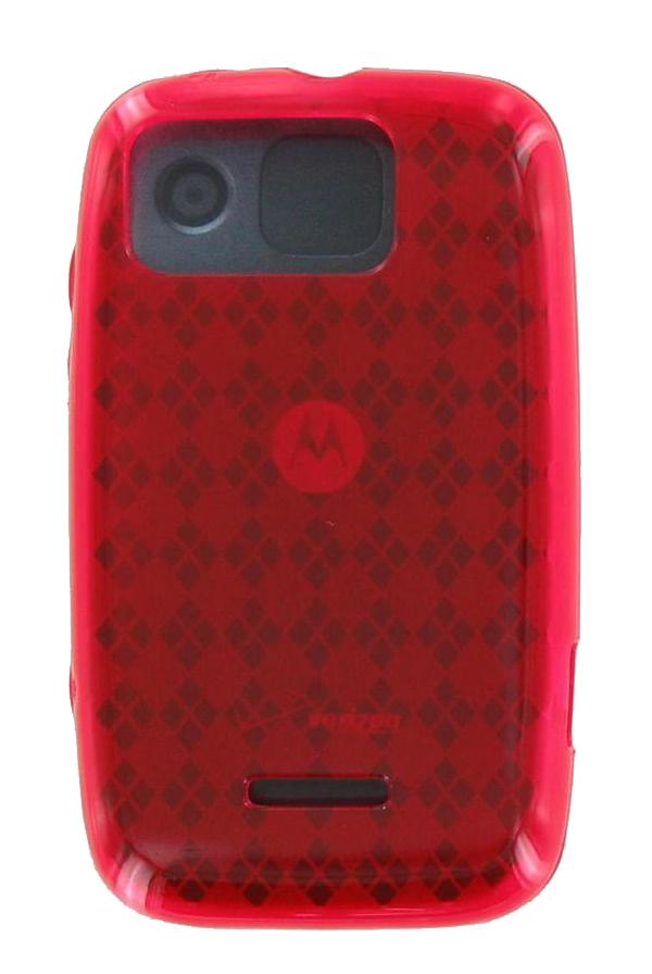 Verizon Citrus WX445 Silicone Gel Case (Red) (Bulk Packaging)