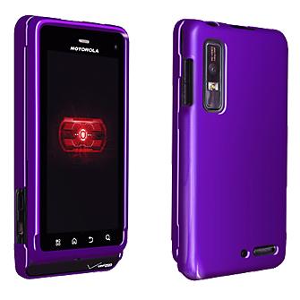 OEM Verizon Hard Snap-On Case for Motorola Droid 2 (Purple) (Bulk Packaging)